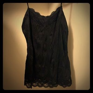 Maurice's Lace Tank Cami Large